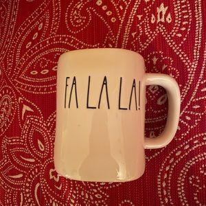 """Rae Dunn """"Fa La La!"""" Mug- SEE DESCRIPTION"""